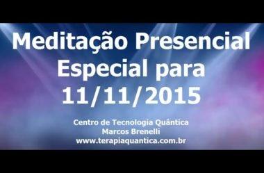 Meditação Presencial 11/11/2015 no CTQ