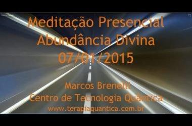Meditação Presencial Abundância Divina – Terapia Quântica Atlantis