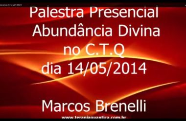 Palestra Presencial no CTQ  20140514
